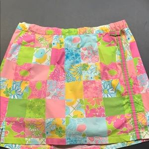 Lilly Pulitzer draw string skirt